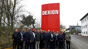 Dexion Export Dealers ready to take on the world