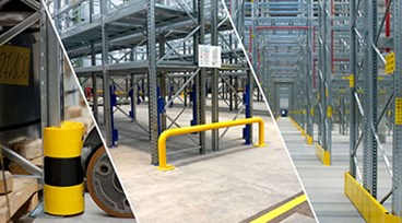 Dexion's rack accessories - The perfect solution to support warehouse safety and social distancing