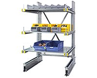 Light Duty Cantilever - Steel Shelves