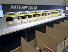 Industrial Paternoster IPN (Vertical Carousel)