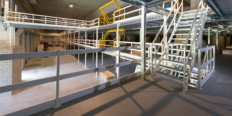Dexion Mezzanine Floor Structures | Workspace Optimisation